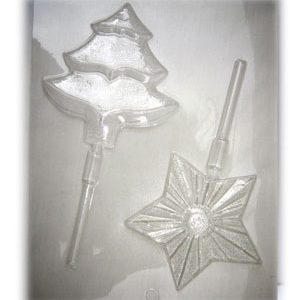Chocolate Tree and Star Molds