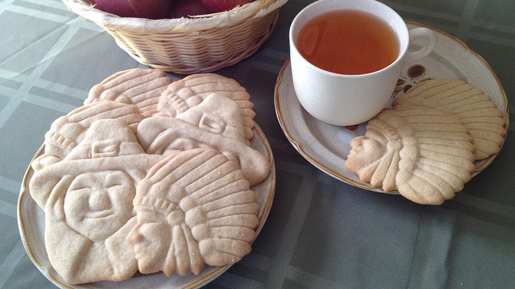 Spiced Brown Sugar Cutout Cookies