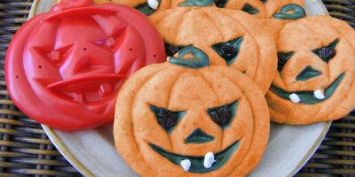 Pumpkin Cutout Cookies