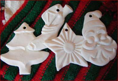 Claydough for Holiday Ornaments